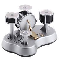 Vente en gros-Nouvelle conception Mini Drum Set Doigt Haute Qualité Drumming Touch LED Percussion Jazz Jazz Instruments Mini pour les enfants Cadeaux
