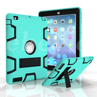 best ipad protector - Shockproof Defender Case Best Armor Case For iPad iPad Air iPad Pro Colorful Protector Case With Sticker