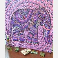 Wholesale Bohemian Geometric Printed Indian Mandala Beach Towel Throw Tapestry Carpets Hippie Yoga Mat Shawl