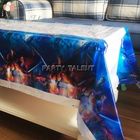Wholesale Starwars theme party birthday party decoration disposable table cloth table cover