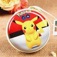 apple coins - poke Earphone Bag Original Pikachu Mini Zipper Coin Purse Headphone Box SD Hold Case Charger Line Bag Style