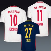 Wholesale 2016 RB Leipzig Home Away Jersey white best quality shirt Sabitzer Keita Forsberg Werner Selke