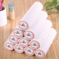 Wholesale 2017 new Rolls set Price Label Paper Tag Tagging Pricing For Gun White roll