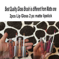 best tube lips - Kylie Full pc Lipstick Holiday Kit Holiday Edition Rigt tube Brush Diff From Matte Lipstick Lip Gloss Matte Liquid Stock Best Quality