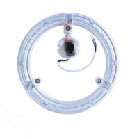 Wholesale Circle Ceiling light W W W transparent ring lamp Led light suorce high brightness SMD5730 aluminum PCB Magnet adsorption AC180 V