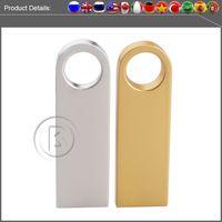 Wholesale hot sale new usb flash drive GB GB GB GB GB pen drive pendrive waterproof metal silver u disk memory disk usb