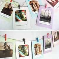 al por mayor imágenes del álbum de bricolaje-Marco de fotos Hot Sell 6 pulgadas de regalo creativo DIY pared colgante de papel Foto Marco de fotos de pared Álbum