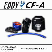 Wholesale For Mazda CX L CF A High Performance Carbon Fiber Cold Air Intake System Air Filter Air Intake Kit