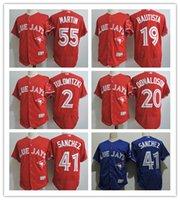 Cheap Baseball 2 Troy Tulowitzki Red Jerseys Best Men Short Troy Tulowitzki Blue Jays Jersey