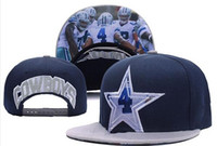 Wholesale New Caps Football Snapback Dallas Hats Gray And Blue Color Dak Hat Team Hats Mix Match Order All Caps in stock Top Quality Hat