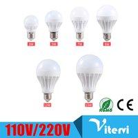 Wholesale E27 LED bulb light W W W W W W b22 led light SMD2835 V V Energy saving Super Bright bulb lamp