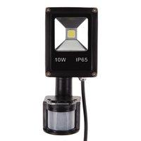 Wholesale W PIR Motion Sensor Light Flood Light Security AC DC V LED Outdoor Indoor Lighting
