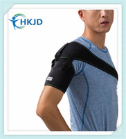 Wholesale Shoulder Brace Adjustable Gym Sports Single Shoulder Support Brace for Rotator Cuff Injury Prevention and Recovery