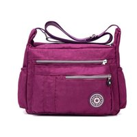 Wholesale Nylon Oxford Cloth Canvas Bag Lady Single Shoulder Bag Leisure Travel Bag New Mother Large Capacity Package