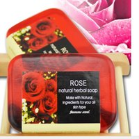 Wholesale different kinds of flower fragrance soap different colours is OK bathing facial soap beautiful design soap