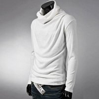 Wholesale Men Sweater Winter Wool mill MAO Knitted Sweaters Warm Turtleneck Pullovers New Hot Sale Sweater Standard Clothes M XL