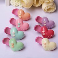 asian hair products - Cute Baby Girlsheart Hair Clip Headband Hairpins Hair Accessories the cheapest products