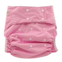 Wholesale 10pcs Adjustable Size Reusable PUL Waterproof Cloth Adult Diaper High Quality Cloth Diapers For Old