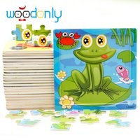 Wholesale wooden puzzle baby educational toys for children creative intellectual education of boys and girls birthday gift childhood