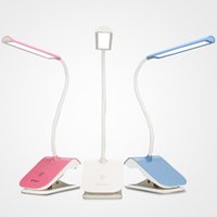 Wholesale YAGE usb led book Light lamp reading desk clip led lights touch switch Removable lamp bending lamp