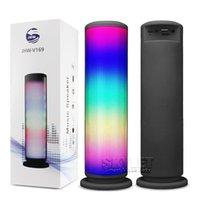 aluminum music stand - Bluetooth Music Speaker Wireless JHW V169 LED Light Speaker ESR Stereo Speaker Outdoor Speakers with Retail Package