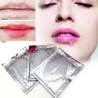 Wholesale Fashion skin care Crystal Collagen lip Mask lip care pads Moisture essence anti ageing wrinkle patch pad