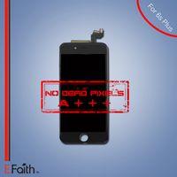 Écran lcd noir Prix-Pour Black White iPhone 6S Plus Grade A +++ Affichage à cristaux liquides à écran tactile avec la pièce de remplacement d'écran tactile 3D Livraison gratuite