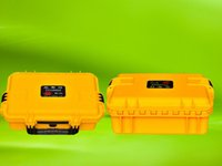 Wholesale dustproof shockproof safety seal equipment case toolbox Externadimens395 Instrument box with pre cut foam lining