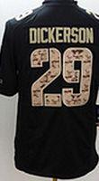american dickerson - Rams Dickerson Gurley Quinn Men s Black Salute to Service American football Jerseys