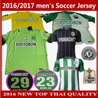 Wholesale 2016 New Thai quality AtlEtico Nacional Home AWAY rd Soccer Jersey AtlEtico Nacional year commemorate Version Football shirts