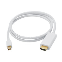 adapter connection cable - High Resolution Mini DP to HDMI Cable Male to Female Adapter For PC Monitor HDTV connection