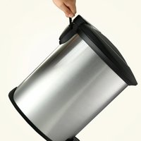 Wholesale 12 litre slim step can plastic lid stainless steel