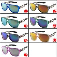 El precio al por mayor Las lentes estupendas de la sombrilla de los deportes refrescan las lentes de la resina del color Los vidrios de Sun de la bicicleta Los hombres diseñan las gafas de sol baratos