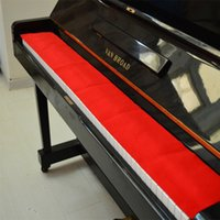 Wholesale High Quality Piano Keyboard Protective Dirt proof Cover with Soft Wool Piano Dust Cover