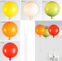 Globe balloons ceiling - NEW ARRIVED Color balloon lamp modern simple creative restaurant bedroom lamp bar bar room ceiling children s lamp