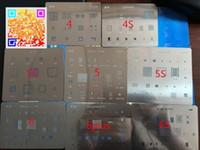 bga ic chipset - 8pcs BGA reballing Solder template stencil BGA IC Chipset for iphone s s c plus s