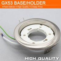 Wholesale GX53 Ceiling Lamp Holders Copper Core ABS cm Dia Lamp Bases for LED AR111 Cabinet Light Spotlight Energy Saving Bulb