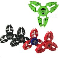 Hot Fidget spinner Capitaine américain The Hulk Avengers styles Hand Spinners à grande vitesse EDC Toys Avenger pattern with retail package