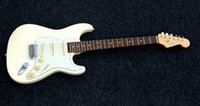 Wholesale SHIJIE electric guitar STE series olympic white color alder body hard maple neck electric guitar