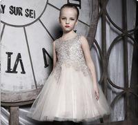 Wholesale The new south Korean children s clothing han edition girls flower children show girls princess dress children dress