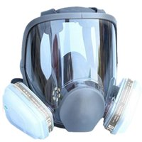Wholesale For Gas Mask Full Facepiece Respirator Piece Suit Painting Spraying with Filter Cartridge