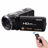 Wholesale Full HD p Camcorders Digital Video Camera fotografica Support Face Detection Camcorder quot Touch Screen MP x Zoom Recorder
