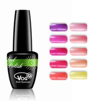 Wholesale 6pcs of VOG Classic Package Color Gel Nail polish ml colors