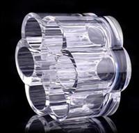 Wholesale 100pcs Insert Holder Box Lipstick Brush Makeup Drawers Cases Plum Flower Clear Acrylic Cosmetic Organizer