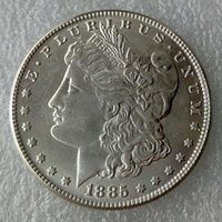antique mirror finish - New Style Silver cc Morgan Dollar DEEP MIRROR PROOF LIKE FINISH Copy Coin