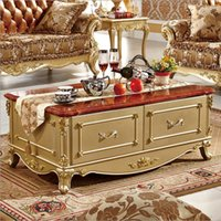antique marble coffee table - new arrival hot selling antique European style French Italian hand carved natural marble coffee table pfy10070