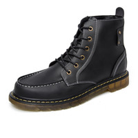 Wholesale New high Martin boots the European and American fashion brand of boots male low cylinder men boots