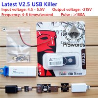 Wholesale Latest Upgraded USB killer V2 U Disk Killer Miniature High Voltage Pulse Generator USB Killer Accessories Complete
