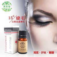 Wholesale bottles Liquid eye Eyelash hair growth hair thickening fiber hair care long hair eyelashes grow longer Cream freeshipping