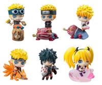 5cm anime mini figures naruto - Naruto Uzumaki set Anime Naruto Uzumaki Mini PVC Action Figures Collection Toys Children Doll Gift Collection Toysfree sh